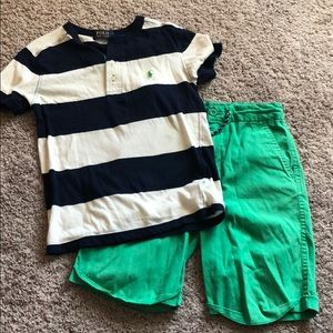 Polo RL Boys Shorts